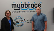 Janet and Dr. Pilgrim at Myofunctional Research Co